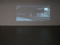 """Kasia Kujawska-Murphy,""""Missed Train-Analysis"""" 2014, video-performance;Municipal Gallery video-projection, psychological analysis of the loss-absence ref. to: Jacues Lacan. Municipal Contemporary Art Gallery BWA, Katowice Pl, Dzyga Gallery Ukraine, Site Specific Galleries, Sicly Sicily;"""
