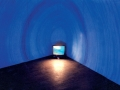 "Kasia Kujawska-Murphy, ""Light House"" II, specific video installation, 1999, ""Kreative Raum"" , Kunsthause,  Wiesbaden, Germany"