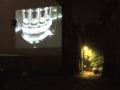 "Tim Murphy, ""Regeneration od Art District"" - outside projection on a building"