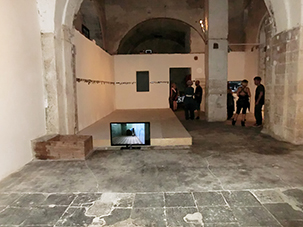 """Not I"" Site Specific Galleries, Scilia, Sicily, Italy 2015"