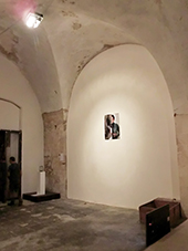 "Ola Aleksandra Kujawska, photography, ""Not I"" The International Exhibition of Contemporary Art, Site Specific Galleries, Scicli, Sicily, 2015"