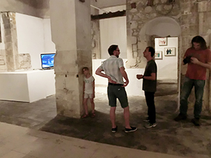 """Not I"" Site Specific Galleries, Scicli, Sicily, Italy 2015"
