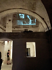 "Emrah Gokdemir, ""Not I"" The International Exhibition of Contemporary Art, Site Specific Galleries, Scicli, Sicily, 2015"