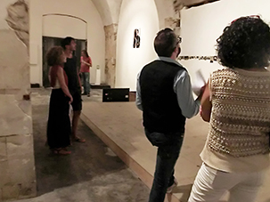 """Not I"" Site Specific Galleries, Sicily, Italy 2015"