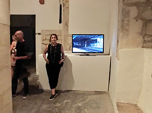 "Kasia Kujawska-Murphy, video presentation, ""Not I"" The International Exhibition of Contemporary Art, Site Specific Galleries, Scicli, Sicily, 2015 cocurator: Kasia Kujawska-Murphy,"