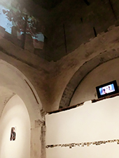 "Agata Drogowska, Video, ""Not I"" Site Specific Galleries, Scicli, Sicily, Italy 2015"