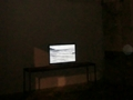 """Hector Solaris, video-installation, """"Not I"""" Site Specific Galleries, Scicli, Sicily, Italy 2015"""