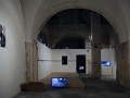"Maria Wronska, video-installation, ""Not I"" The International Exhibition of Contemporary Art, Site Specific Galleries, Scicli, Sicily, 2015"