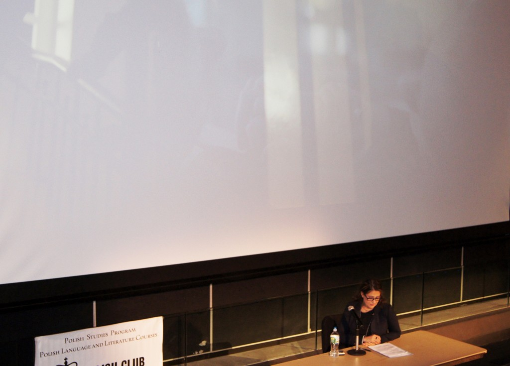 "2015 Lecture at Columbia University, introduction of the premiere of the film ""The Performer"", Albert Lerner Hall – Roone Arlegde Cinema (Broadway) New York,"