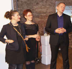 "MICHAL OLESZCZYK AND KASIA KUJAWSKA-MURPHY, OPENING""SILENCE IN SLOW MOTION"" WESTBETH, LOU REED STUDIO, NYC - SOHO"